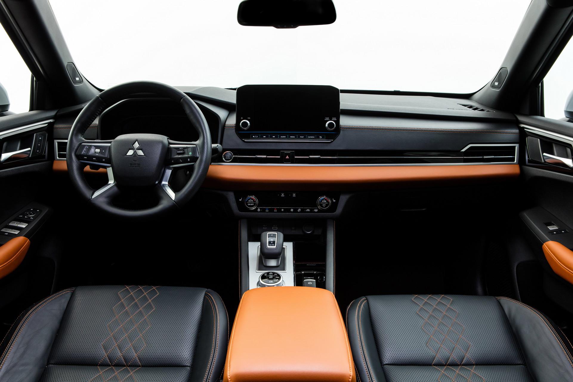 Mitsubishi Outlander 2022 - wnętrze
