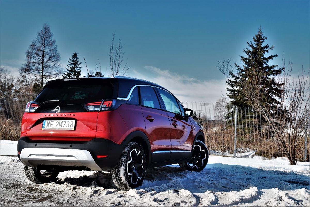Opel Crossland cennik