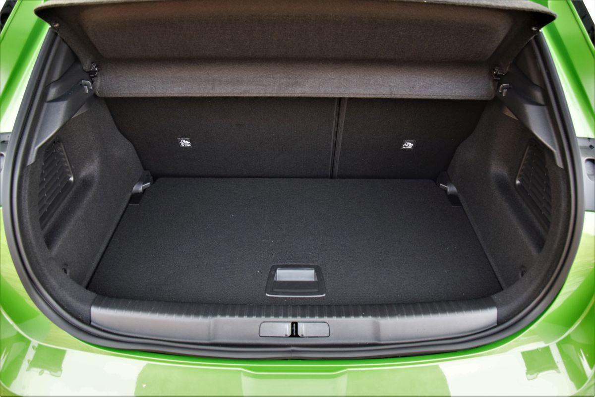Opel Mokka 2021 - pojemność bagażnika