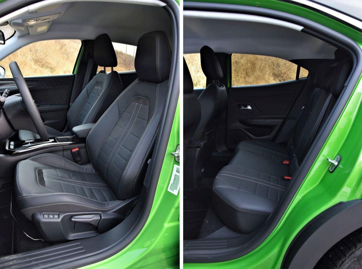 Opel Mokka 2021 fotele