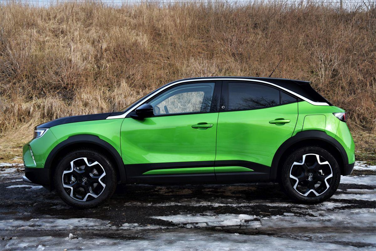 Opel Mokka - wyposażenie