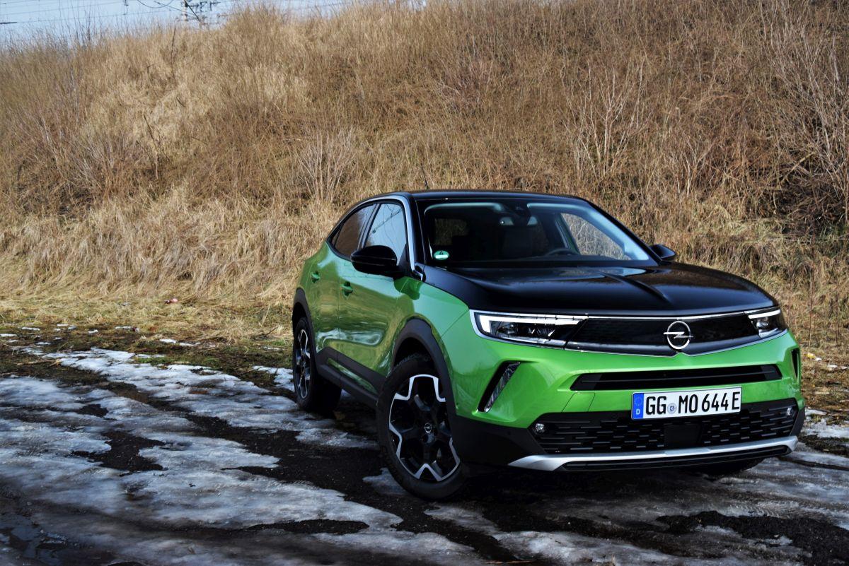 Opel Mokka wrażenia zjazdy