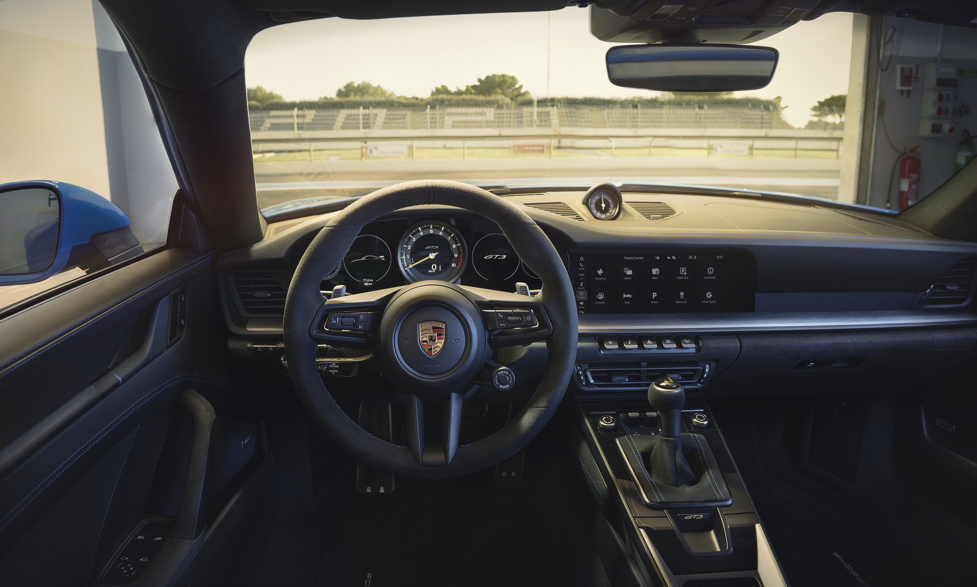 Porsche 911 GT3 2022 - wnętrze