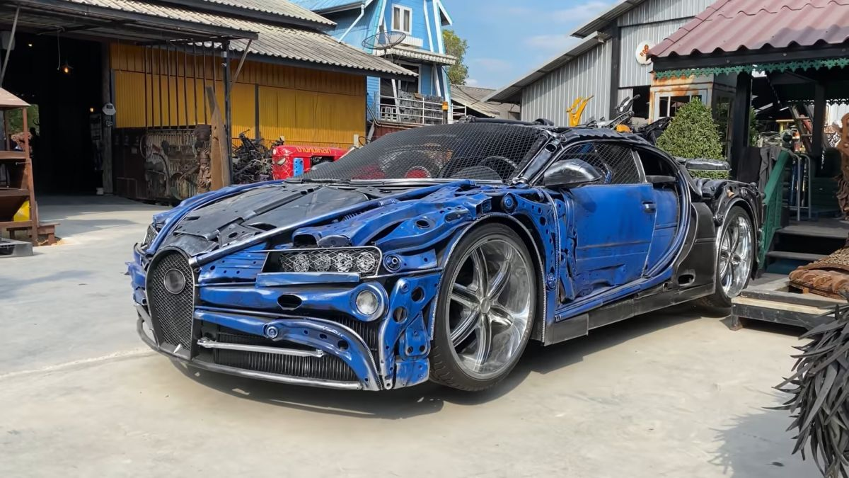 Bugatti ze złomu