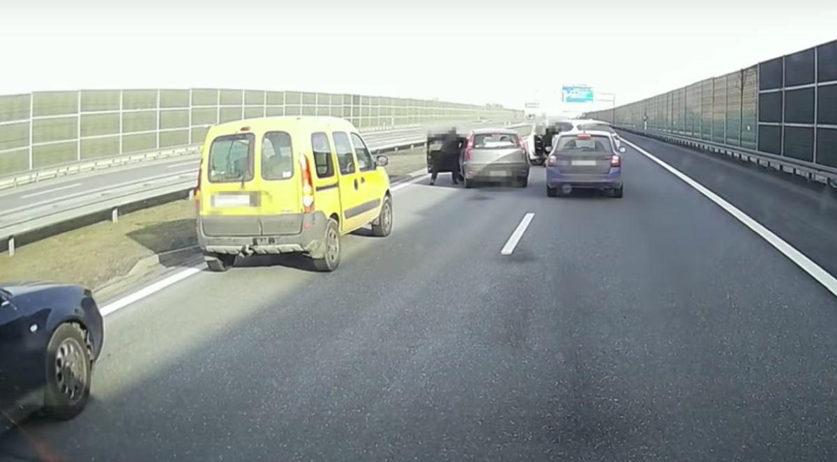 Pijany kierowca na A4 pod Rzeszowem