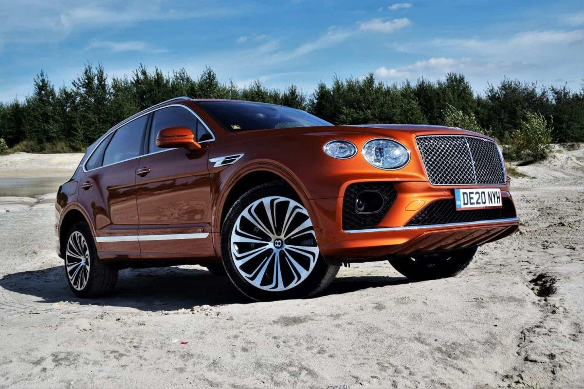 Bentley - wzrost sprzedaży 2021