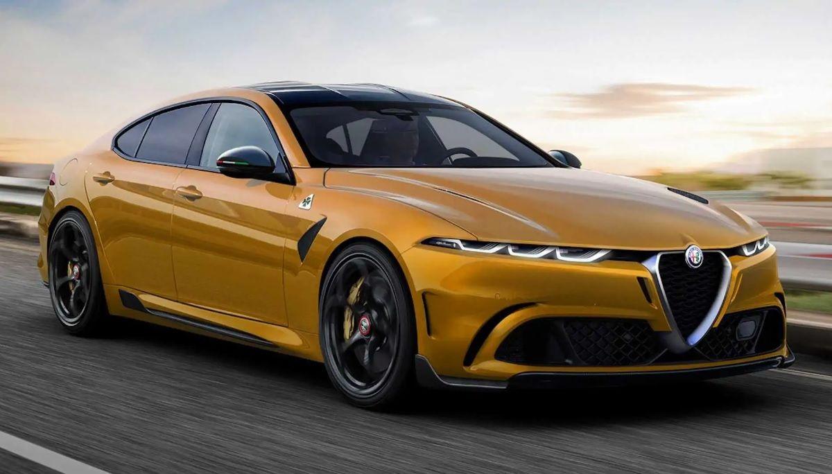 Alfa Romeo new sedan 2022