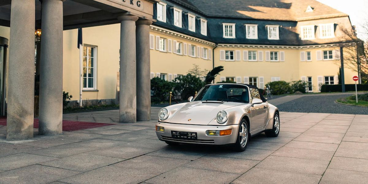Porsche Maradony na sprzedaż