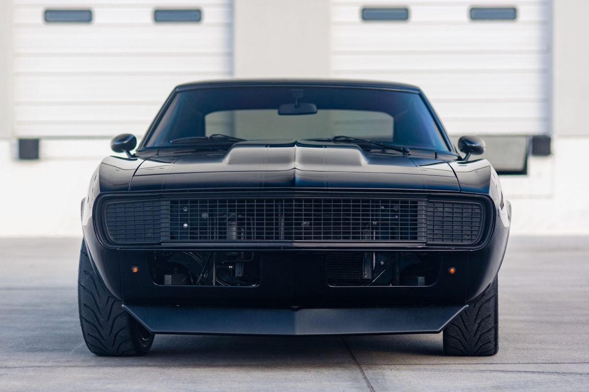 Camaro like Toretto's Charger