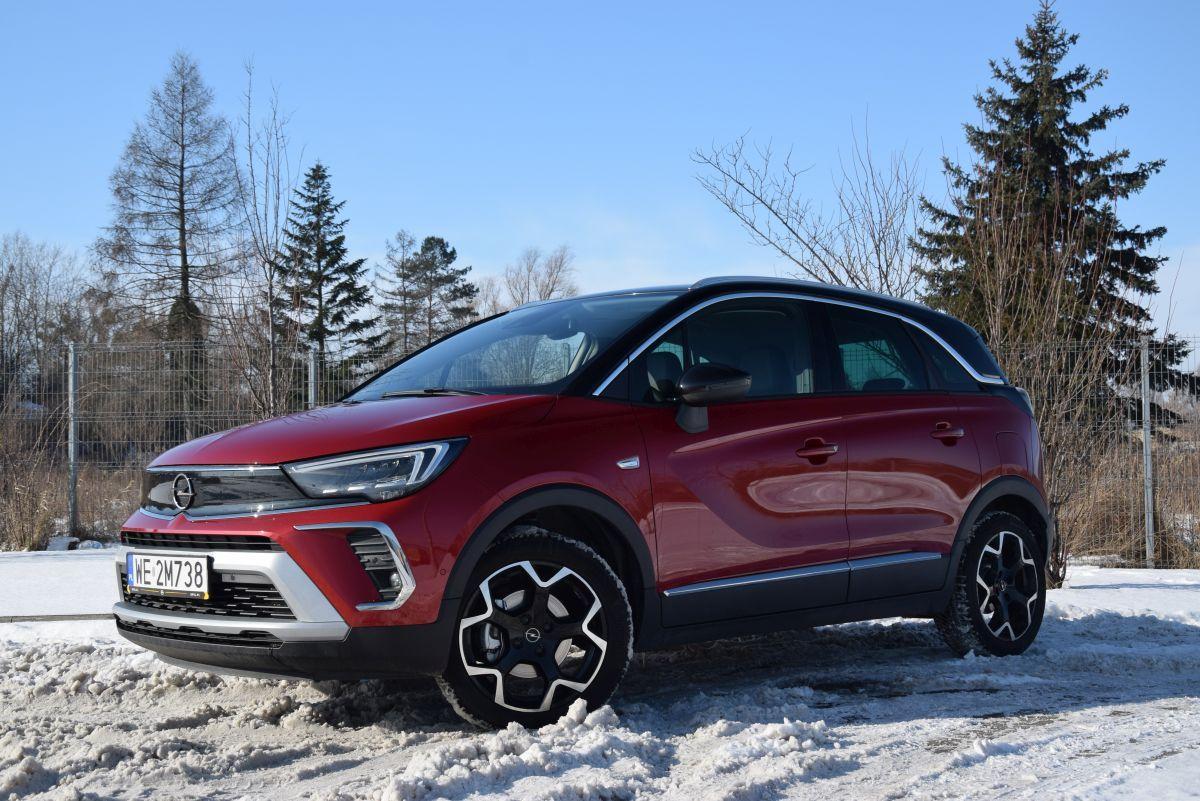 Opel Crossland 2021 test