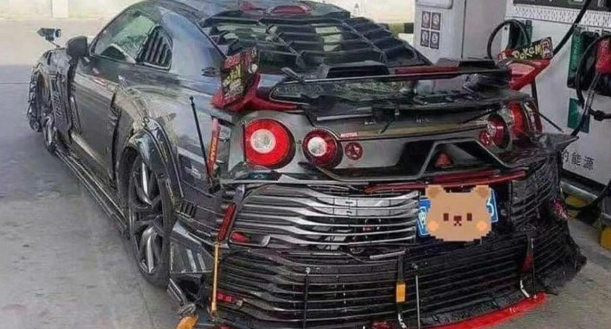 Nissan GT-R - wiejski tuning