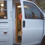School bus like a camper