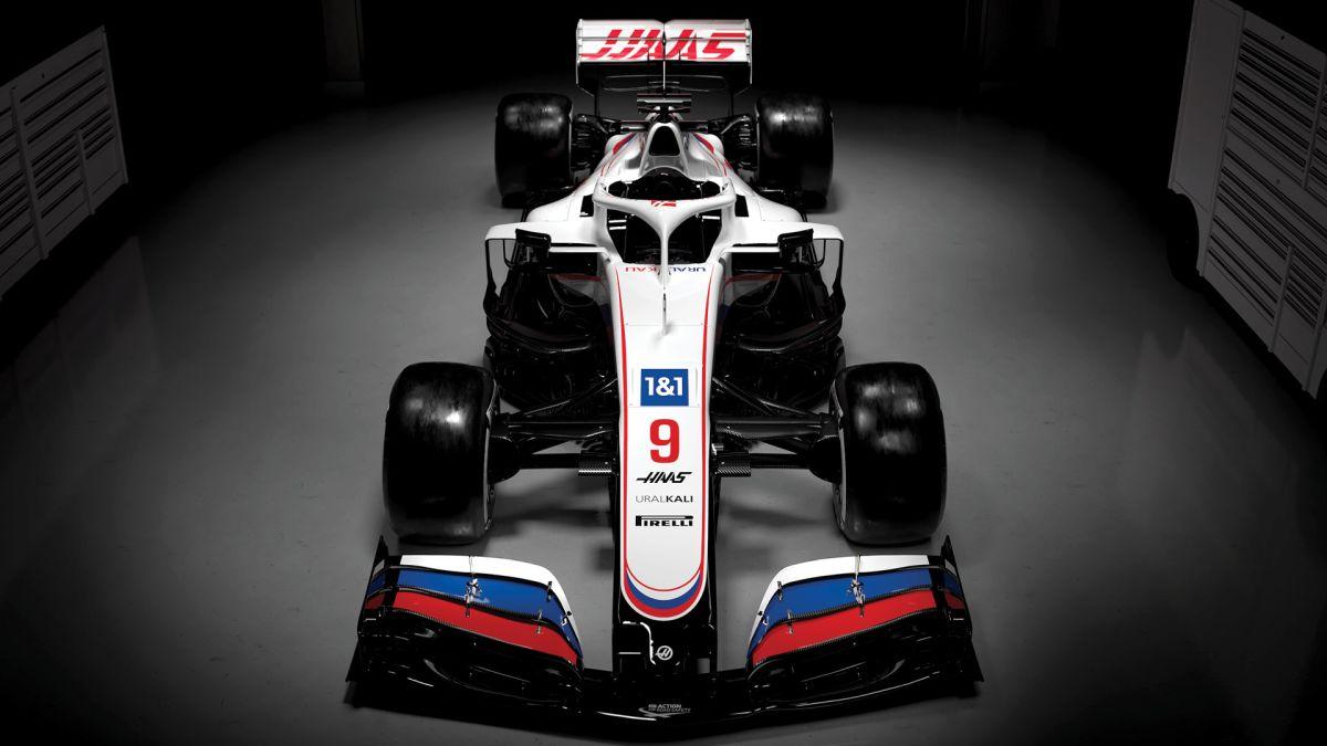 Haas bolid na sezon 2021