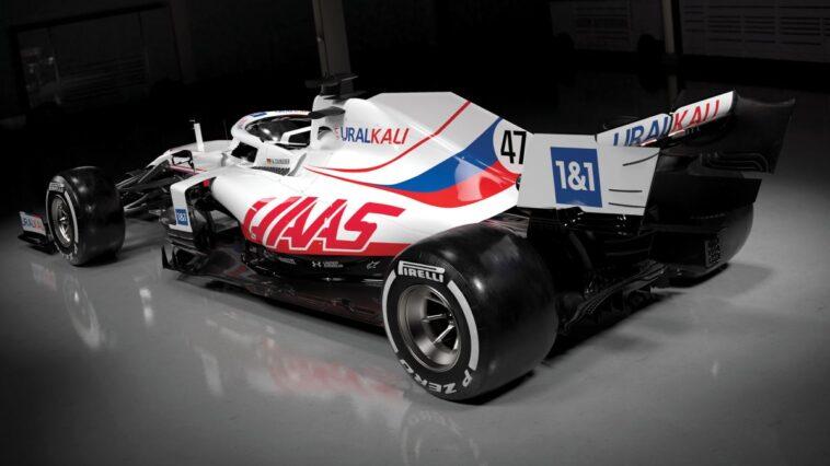 Haas 2021 car