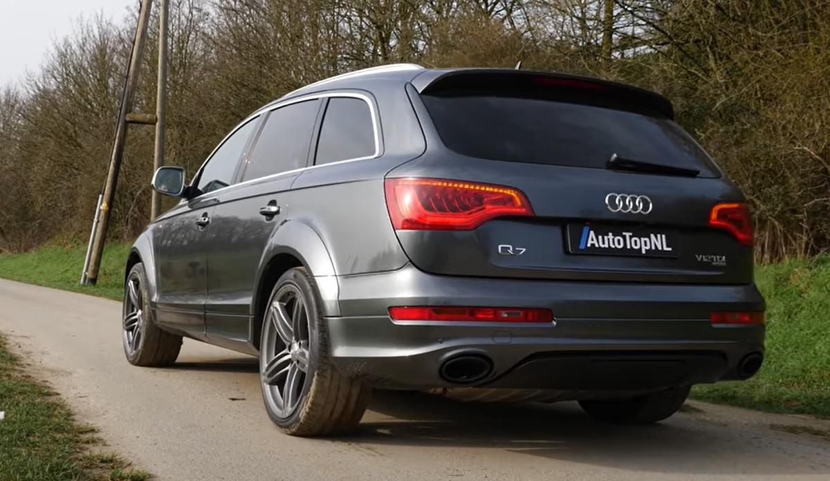 Audi Q7 V12 TDI acceleration