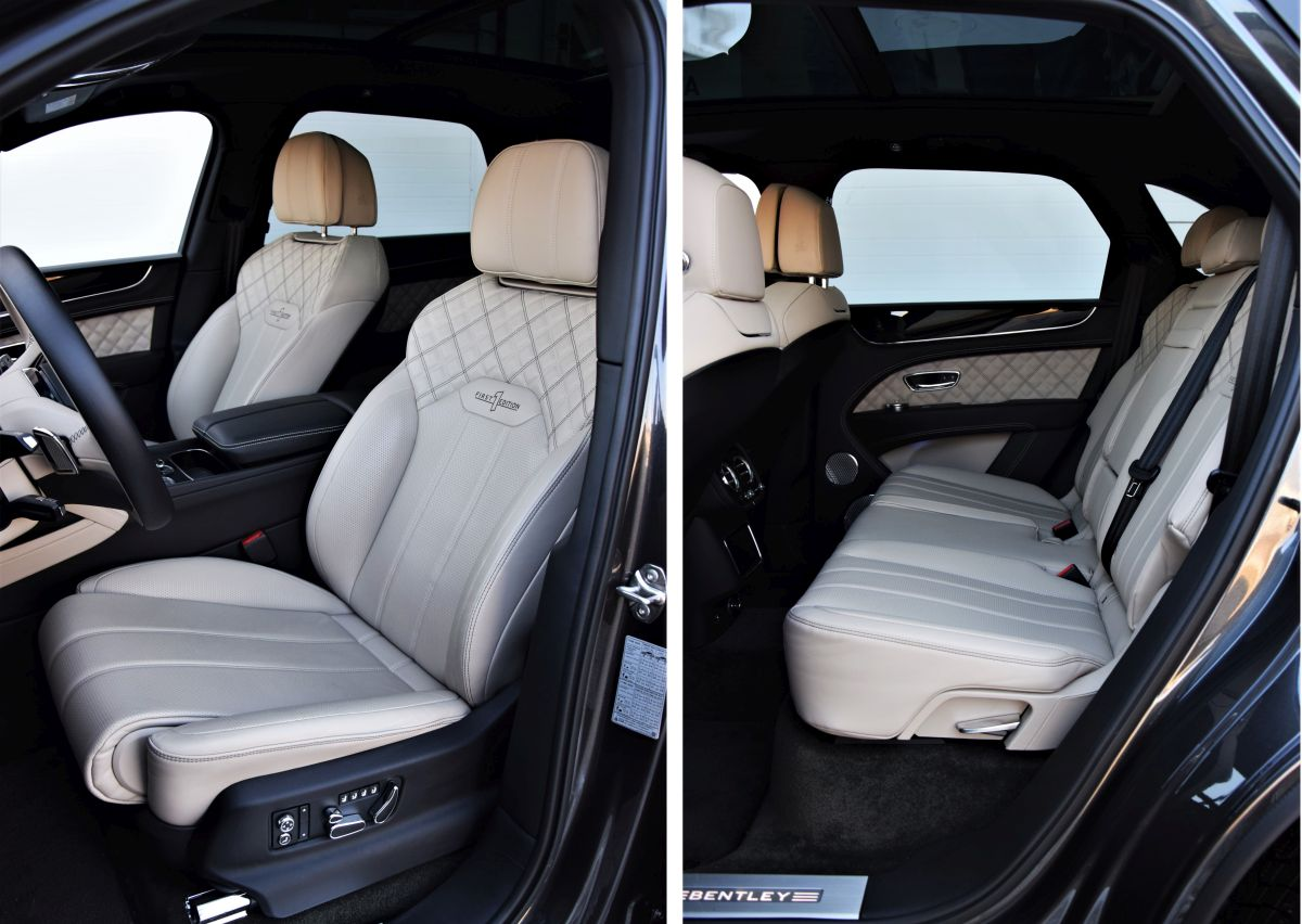 Bentley Bentayga kabina