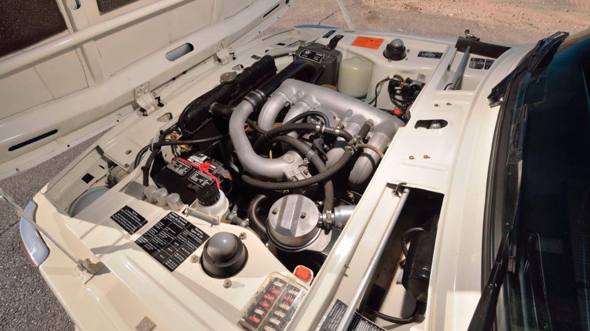 BMW 2002 Turbo dane techniczne