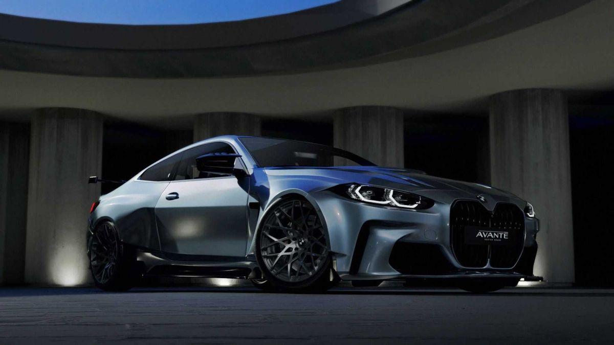 BMW M4 avante design