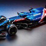 Alpine F1 car 2021