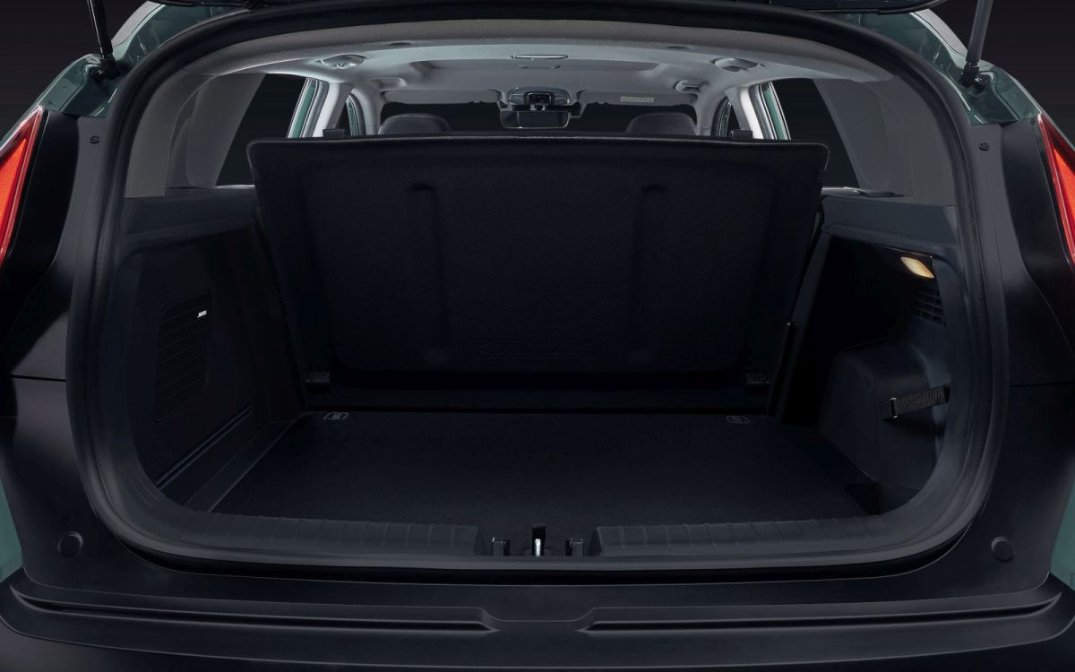 Hyundai Bayon pojemność bagażnika