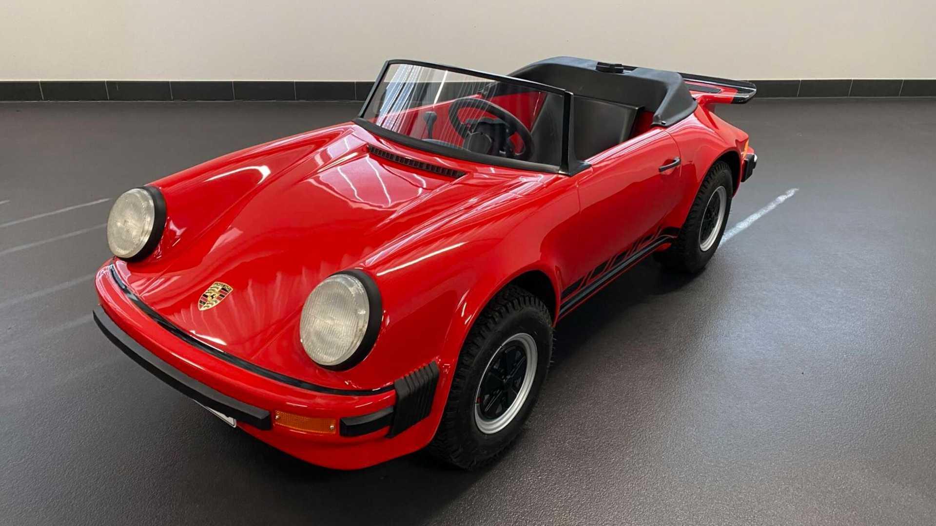 mini gokart Porsche