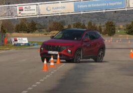 Hyundai Tucson test łosia