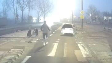 Potrącenie rowerzystki na przejeździe dla rowerów