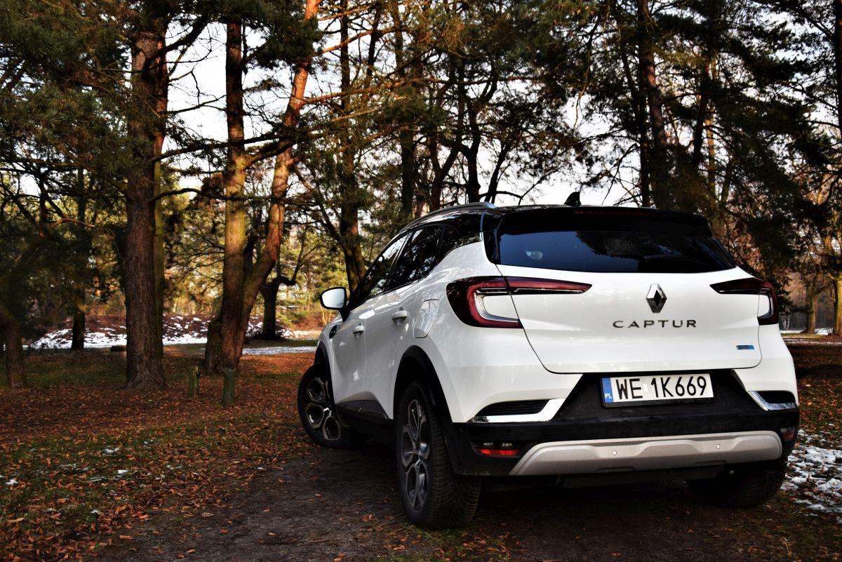 Renault Captur Hybrid wrażenia zjazdy