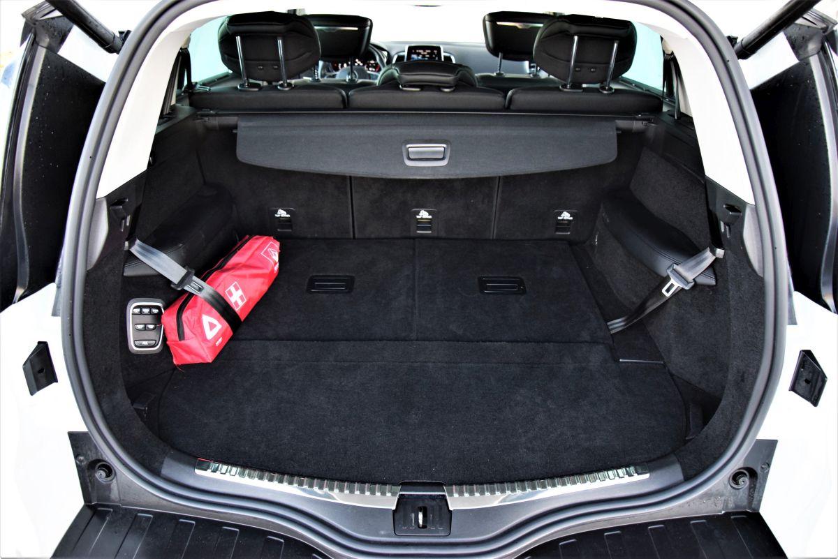 Renault Espace 2021 pojemność bagażnika