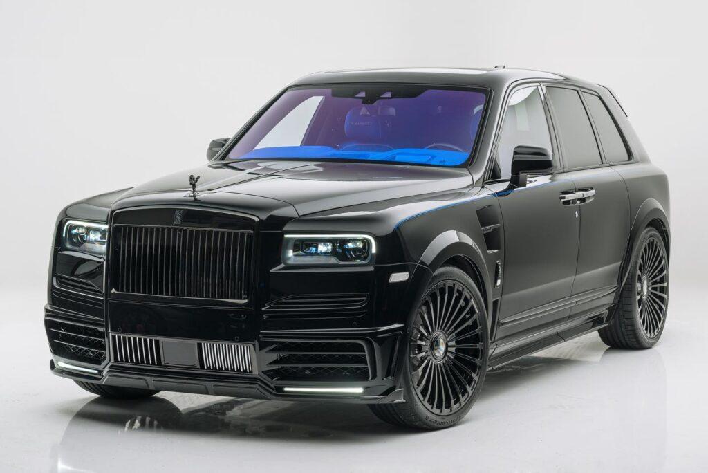 Rolls Royce Cullinan Mansory 2021