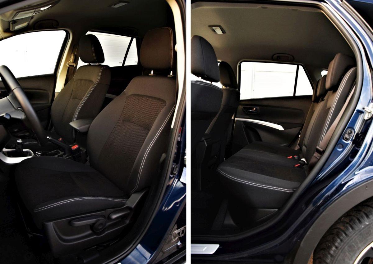 SX4 S-Cross kabina