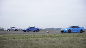 GTR vs 911 vs R8