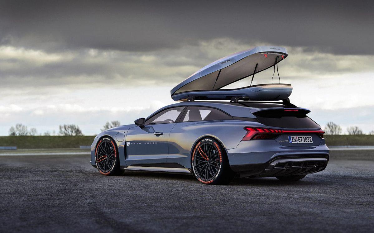 Audi e-tron GT Shooting Brake no official