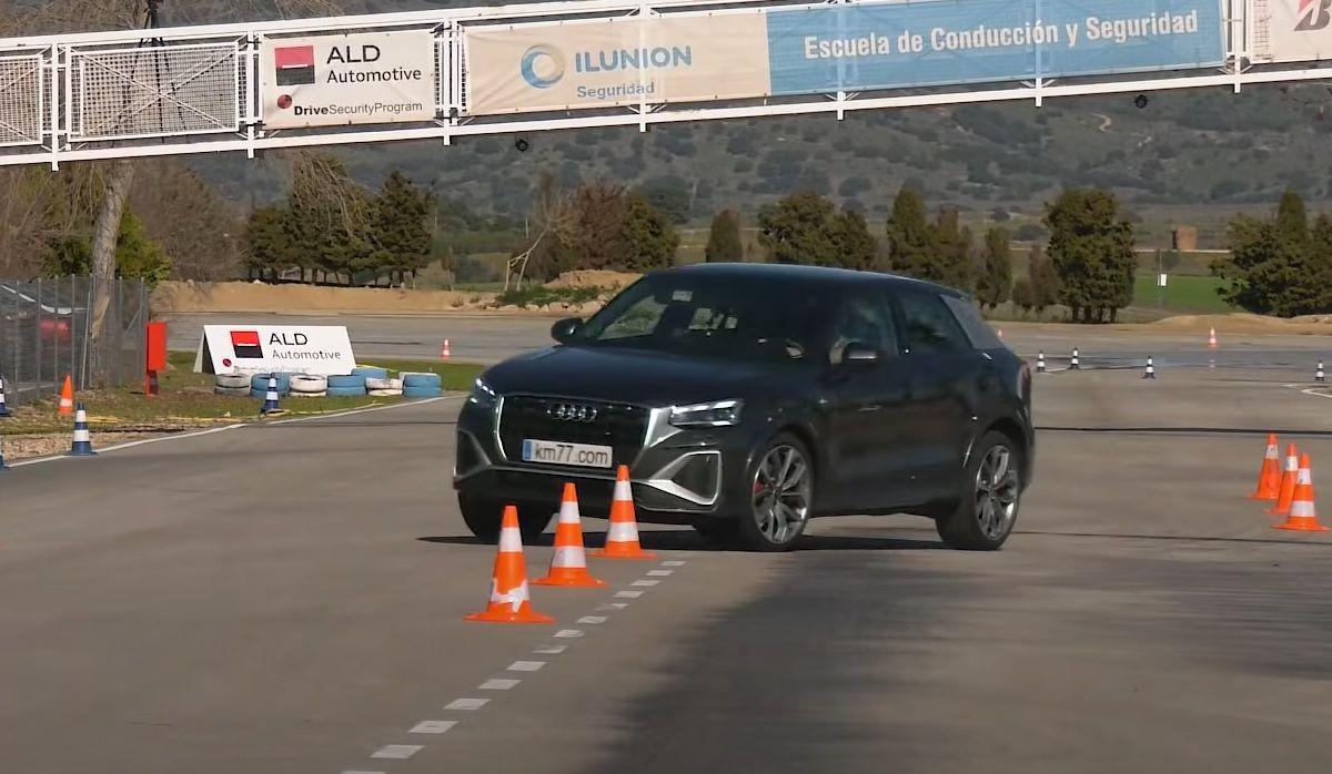 Audi Q2 test łosia