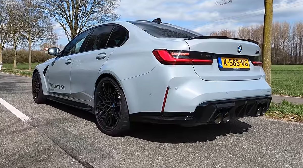 BMW M3 Competition G80 acceleration