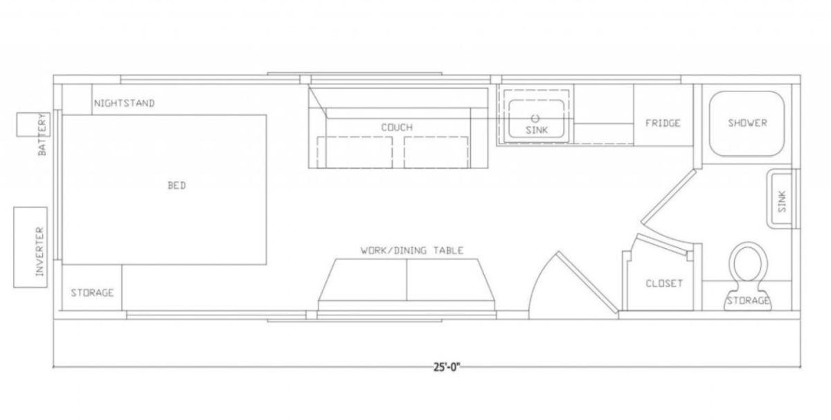Dom nakółkach IKEA - rozkład pomieszczeń