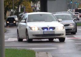 BMW E61 policja gdynia
