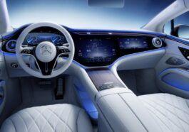 Mercedes-Benz EQS wnętrze