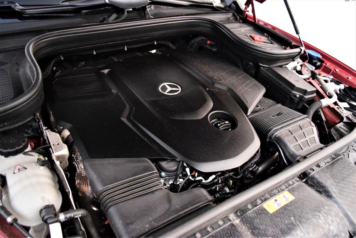 Mercedes GLE 400 d - dane techniczne