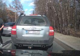 Agresywny kierowca w Piasecznie