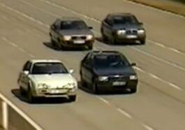 Citroen CX vs Audi 100 Fiat Croma Mercedes W124 (wideo)