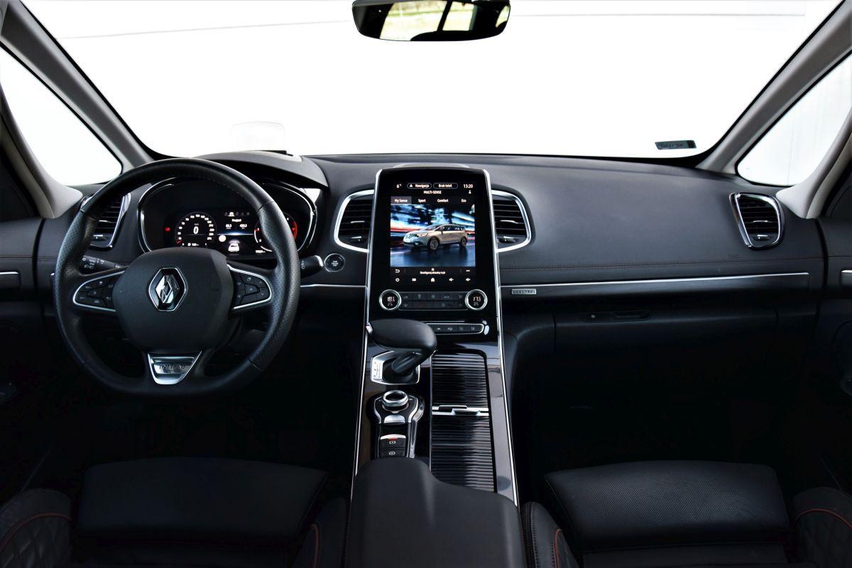 Renault Espace facelift wnętrze