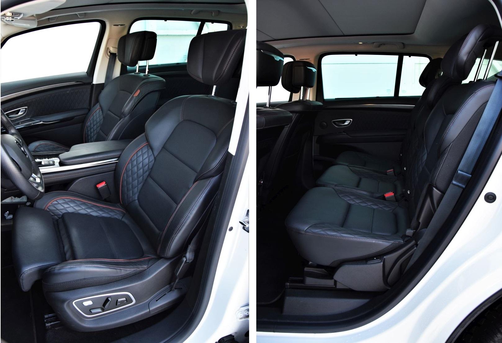 Renault Espace 2021 kabina