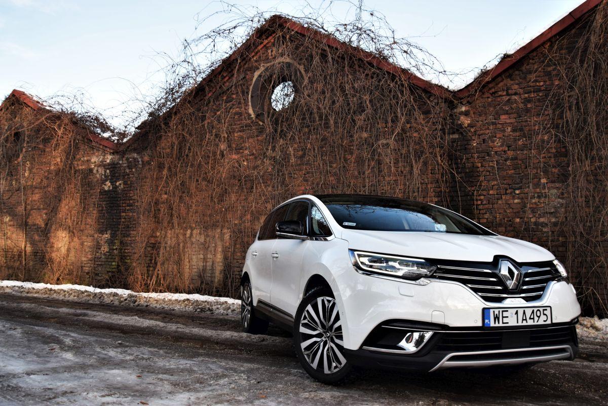 Renault Espace wrażenia zjazdy