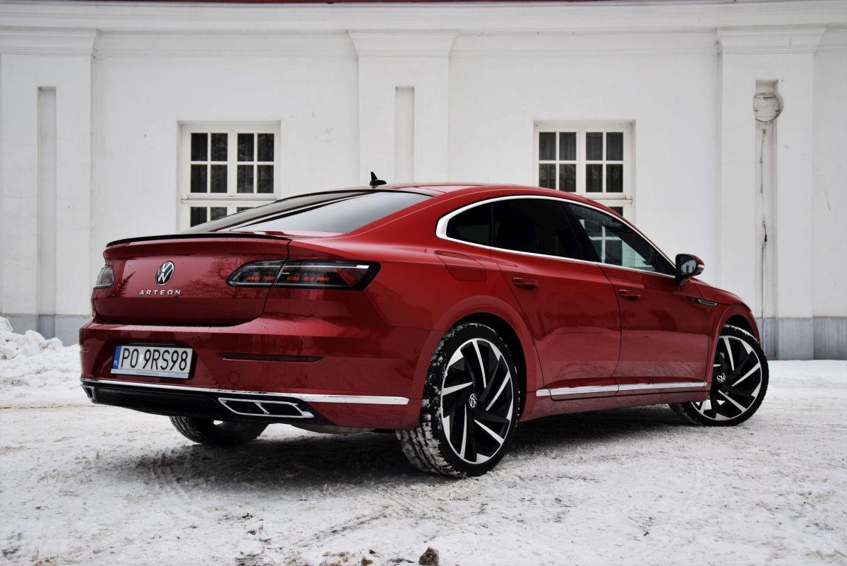 VW Arteon facelift design