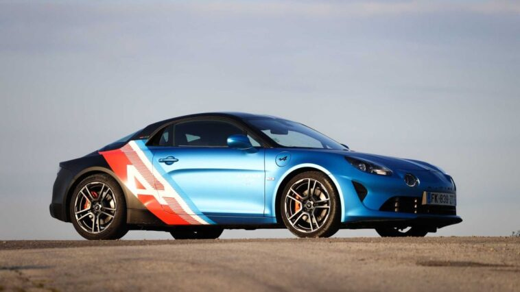 Alpine A110S for F1 drivers