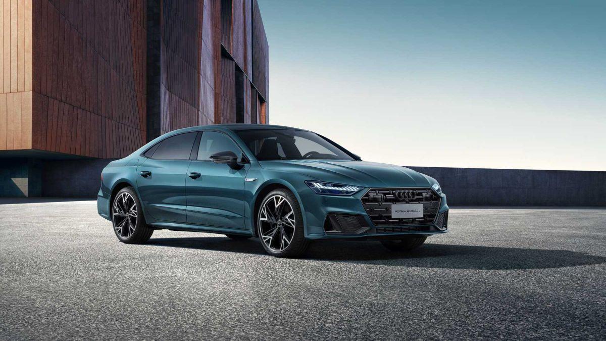 Audi A7L rozstaw osi