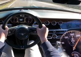 Bentley Flying Spur V8 acceleration