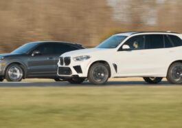BMW X5 M vs Porsche Cayenne Turbo