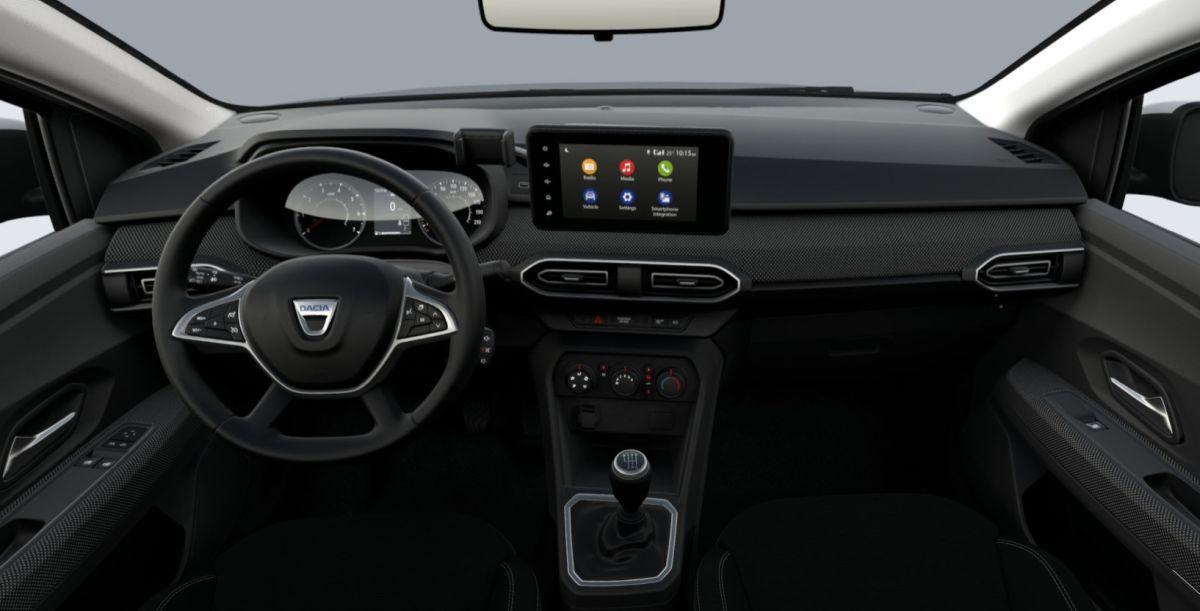 Dacia Logan Comfort - wnętrze